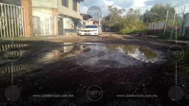 Persiste deficiencia de pavimentación en calles de Morelia