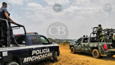 Localizan cadáver con impactos de bala en Tepalcatepec