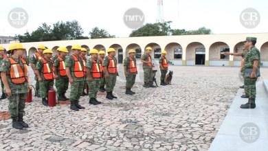 Milicia se suma a los simulacro nacional de sismo