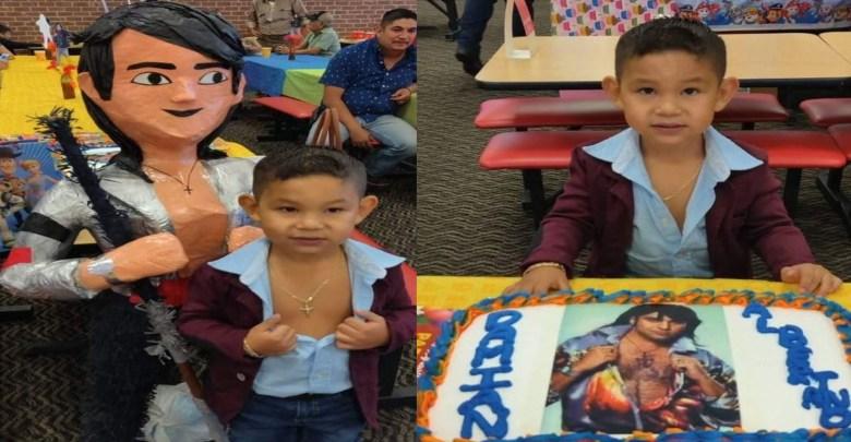 Viral: Niño hace su fiesta temática de Albertano