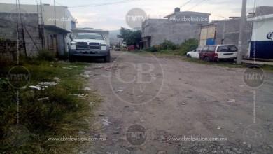 Vecinos de la col. Lago 2 exigen pavimentación de sus calles