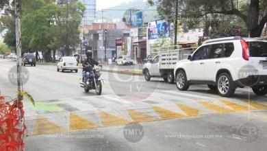 Photo of Ciudadanos calificaron como pésima la planificación del tope peatonal colocado sobre Av. Camelinas