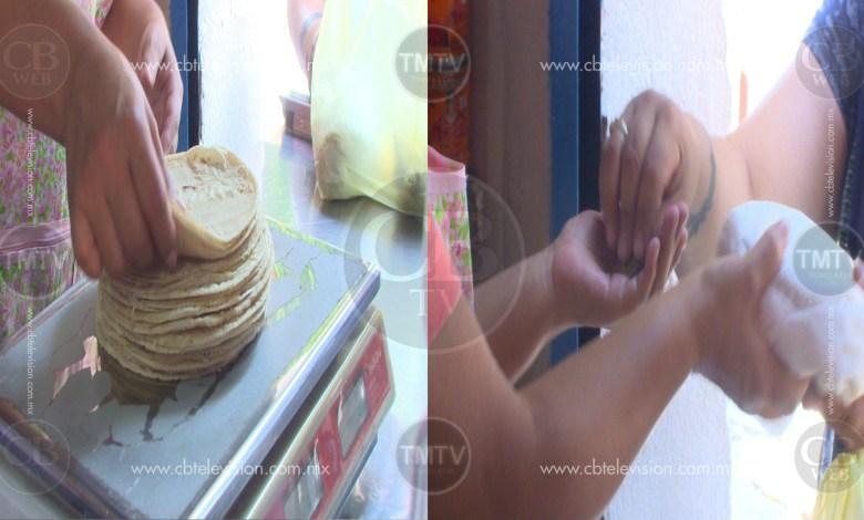 Morelianos inconformes con posible aumento al precio del kilo de tortillas