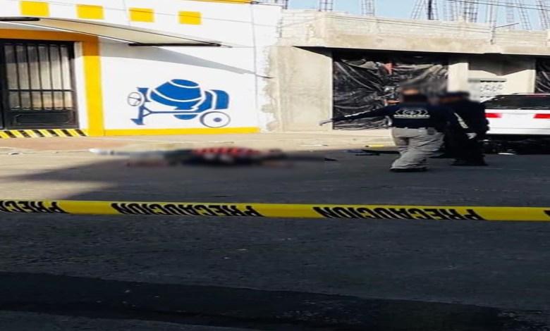 Asesinan a dos hombres en la calle Arteaga