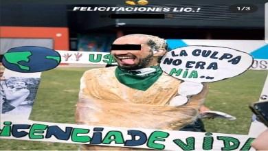 Photo of Hombre se burla de los feminicidios tras titularse; le anulan su tesis