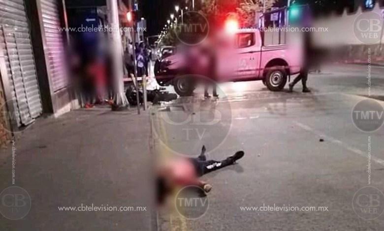 Motociclista pierde la vida al chocar con una auto en Zitácuaro