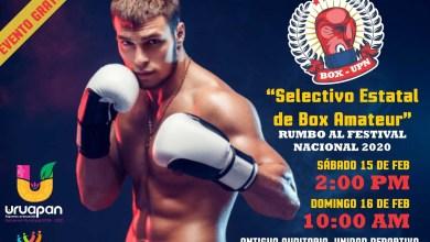 """Photo of Uruapan albergará el """"Selectivo Estatal de Box 2020"""""""