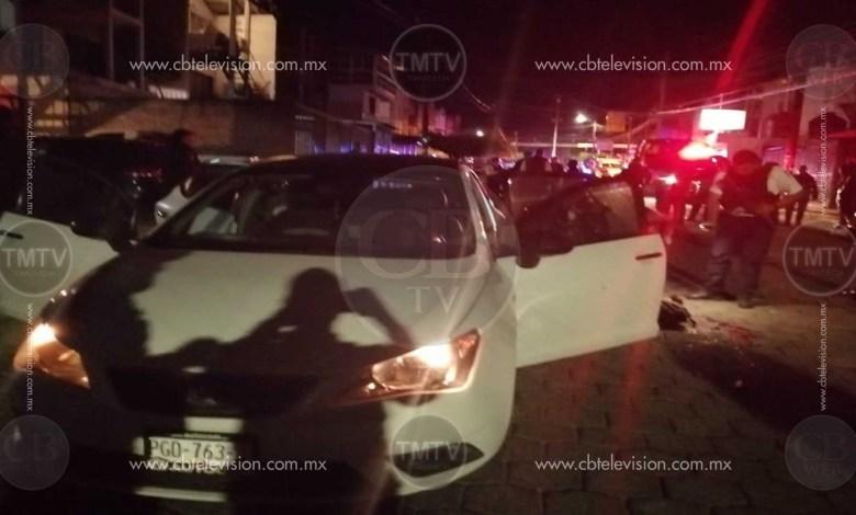Intentan asesinar a chofer de Uber y sus pasajeros en Morelia