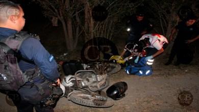 Photo of Motociclista herido al chocar con un vehículo en LC