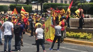 Photo of Aficionados de Monarcas extienden su protesta y marchan a la fuente de Las Tarascas