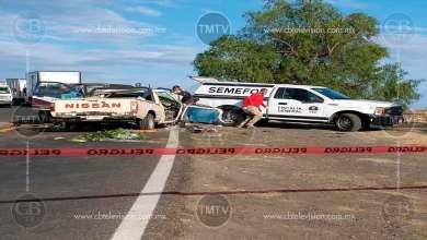 Photo of Sube a tres muertos y cinco heridos choque de camionetas