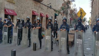 Photo of Mantiene SSP dispositivo de vigilancia en el Centro Histórico de Morelia