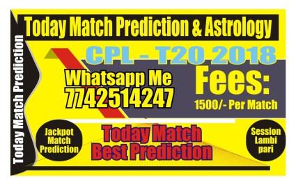 Trinbago vs Guyana CPL Qualifier 1 Match Tips
