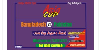 Betting Tips PAK vs Ban