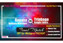 Guyana vs Trinbago Final Match CBTF Tips
