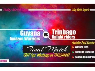 Guyana vs Trinbago Final Match CBTF Tips