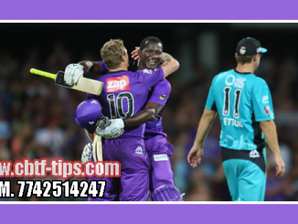 Brisbane vs Hobbart BBL 2018-19 5th Match Reports Toss Lambi Pari BRH vs HBH