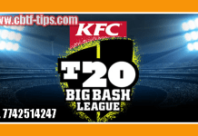 Melbourne Renegades vs Hobart Hurricanes Match Reports Toss Lambi Pari MLR vs HBH