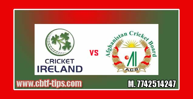 1st T20 AFG vs IRE 100% Sure Win Tips Non Cutting Match