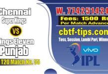 Lagai Khai CSK vs KXIP 55th Match Prediction & Betting Tips - IPL Bhavishyavani 2019