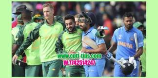 1st T20 Betting Tips IND vs SA Match Who will win today's accurate and 100% Correct Reports Toss Session Lambi Pari