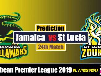CPL 2019 Cricket Betting Tips SLZ vs JT 24th Match Who will win today's Sure Reports Toss Session Lambi Pari