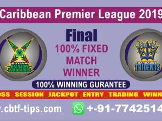 GAW vs BT CPL 2019 Final Cricket Betting Tips Match Prediction