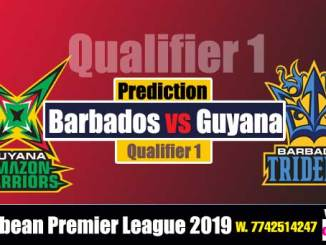 GAW vs BT Qualifier 1 Cricket Betting Tips CPL 2019 Match Prediction