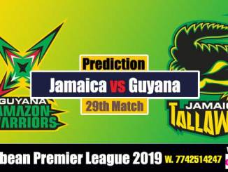 GAW vs JT 29th Cricket Betting Tips CPL 2019 Match Prediction