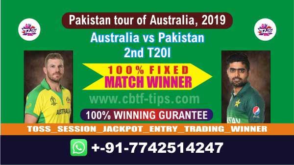 Aus vs Pak Cricket Betting Tips 2nd T20 Match Prediction