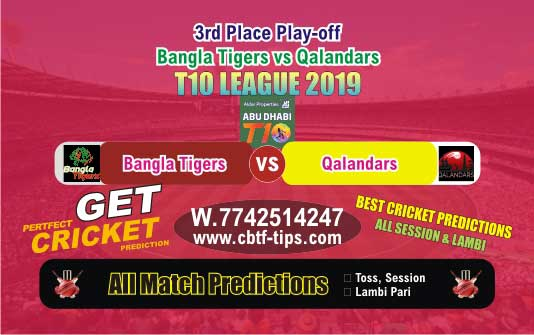 BAT vs QAL 3rd Place Play-off T10 Match Reports Betting Tips - CBTF
