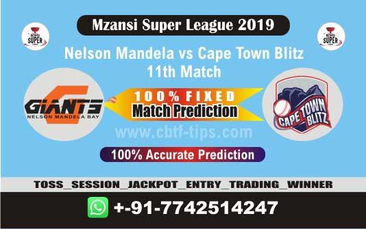 NMG vs CTB 11th Mzansi 2019 Match Reports Cricket Betting Tips