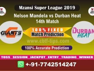 NMG vs DUR 14th Mzansi Super League Match Reports Cricket Betting Tips