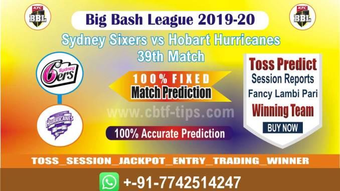 cbtf SYS vs HOB match prediction