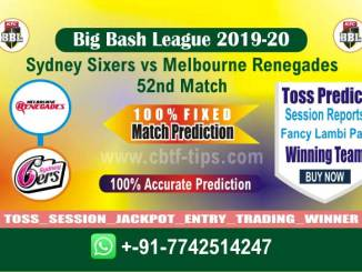 Betting Tips Big Bash MLR vs SYS 52nd