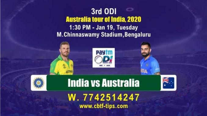 cbtf AUS vs IND match prediction