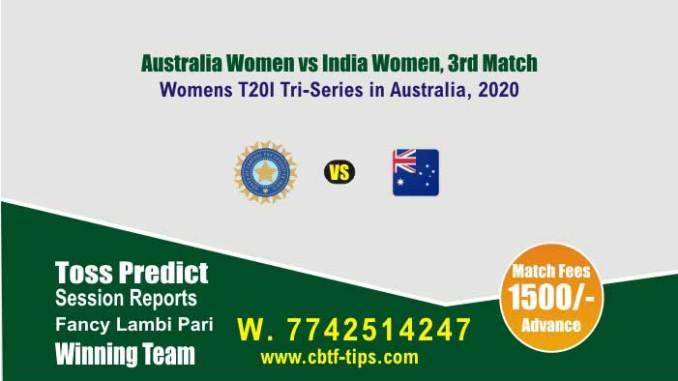 AU-W vs IN-W cbtf match prediction