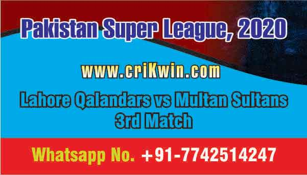LAH vs MUL 3rd PSL T20 Sure Prediction Betting Tips CBTF Toss Fancy