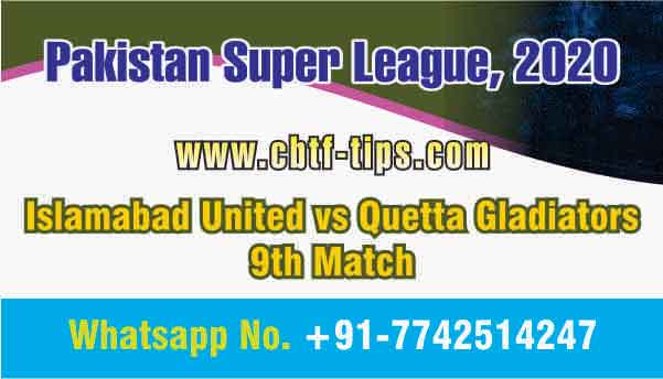 QUE vs ISL 9th PSL T20 Sure Prediction Betting Tips CBTF Toss Fancy