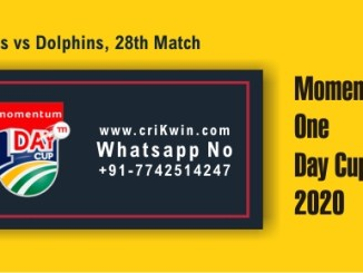 HL vs DOL 28th Domestic ODI Sure Winner Prediction CBTF