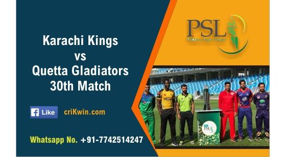 KRK vs QTG 30th PSL T20 Sure Winner Prediction cricketbettingtipsfree
