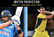 India vs Australia 2nd T20 Match Tips
