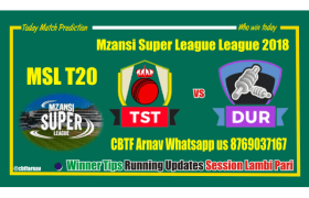 Tshwane Spartans vs Durban Heat MSL 2018 6th Match Tips