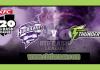 BBL 2018-19 11th Match Hobart vs Thunder Toss Lambi Tips