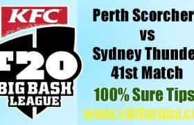 PRS vs SYT BBL 41st Match Prediction SYT vs PRS Toss Pari Tips