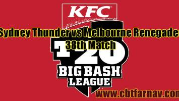 SYT vs MLR BBL 38th Match Prediction MLR vs SYT Toss Lambi Tips