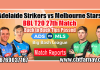 BBL 2019 27th Match Prediction Melbourne Stars vs Adelaide Strikers Toss Fancy