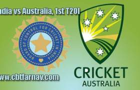 1st T20 AUS vs IND Today Match Prediction Cricket Win Tips