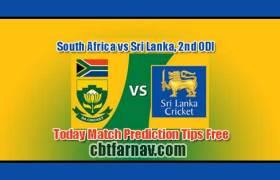 SL vs RSA 2nd ODI Today Match Prediction Cricket Win Tips
