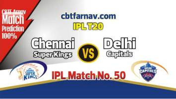 CSK vs DEL Today IPL Match No 50th Prediction 100% sure Win Tips
